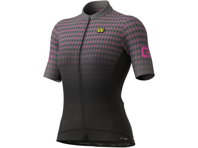 Alé Cycling PR-S Bullet SS Jersey Women, negro/rosa